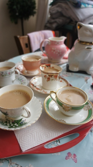 Unwinding with a lovely cuppa